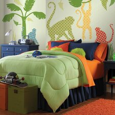 ZooWallogy Antoinne The Monkey Wall Decal