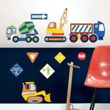 <strong>WallPops!</strong> Art Kit Construction Zone Wall Decal