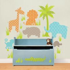 Art Kit Jungle Friends Wall Decal
