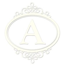 Sheets Southampton Ivory White Monogram and Alphabet Decal Set