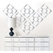 <strong>WallPops!</strong> Jonathan Adler Nixon Mylar Wall Art Kit