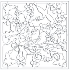 "<strong>WallPops!</strong> 14.75"" x 14.75"" Sanctuary Room Divider (Set of 4)"