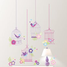 Wall Art Chirping The Day Away Wall Decal Kit