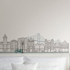 Wall Art Globe Trotter Small Wall Decal Kit