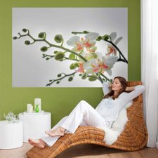 <strong>Brewster Home Fashions</strong> Komar Orchidee 1-Panel Wall Mural