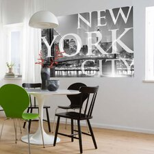 <strong>Brewster Home Fashions</strong> Komar New York City 1-Panel Wall Mural