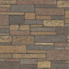 <strong>Brewster Home Fashions</strong> Northwoods Slate Wallpaper
