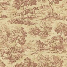 Northwoods Maxwell Toile Wallpaper