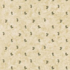 Northwoods Small-Scale Pinecone Print Wallpaper