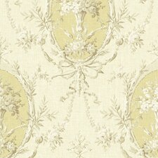 Willow Cottage Cameo Floral Wallpaper