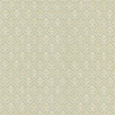 <strong>Brewster Home Fashions</strong> Kitchen and Bath Resource II Bare Damask Embossed Wallpaper