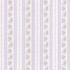 <strong>Brewster Home Fashions</strong> Satin Rose Linen Floral Stripe Wallpaper