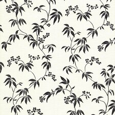 <strong>Brewster Home Fashions</strong> Kitchen and Bath Resource II Floral Silhouette Trail Wallpaper