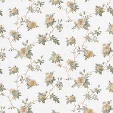 <strong>Brewster Home Fashions</strong> Satin Rose Magnolia Trail Embossed Wallpaper