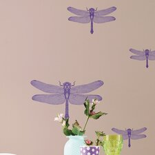 <strong>Brewster Home Fashions</strong> Komar Freestyle Libelle Wall Decal