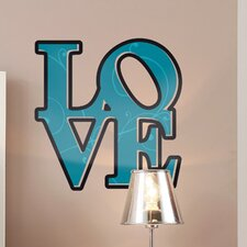 <strong>Brewster Home Fashions</strong> Komar Freestyle Love Wall Decal