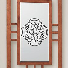 <strong>Brewster Home Fashions</strong> Victorian Medallion Stained Appliqué Window Sticker