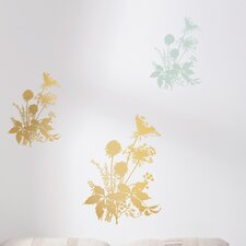 <strong>Brewster Home Fashions</strong> Komar Living Wiesenblumen Wall Decal