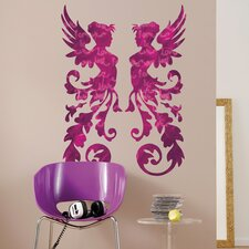 <strong>Brewster Home Fashions</strong> Komar Freestyle Fantasy Wall Decal