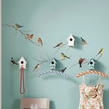 Komar Living Birds Wall Decal