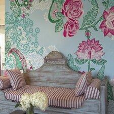 Komar Paisley Rose Wall Mural