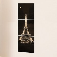 <strong>Brewster Home Fashions</strong> Euro Tour Eiffel Panoramic Wall Decal