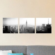 <strong>Brewster Home Fashions</strong> Euro New York Panoramic Wall Decal