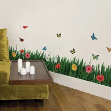 Euro Grass Wall Decal