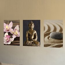 <strong>Brewster Home Fashions</strong> Euro Zen Panoramic Wall Decal