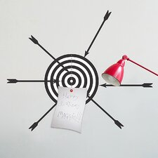 Euro Magnetic Target Self-Adhesive Wall Decal
