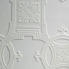 Anaglypta Paintable Early Victorian Embossed Wallpaper
