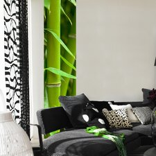 Stripe Euro Bamboo Wall Decal