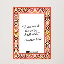 <strong>Brewster Home Fashions</strong> Jonathan Adler WallPops Whiteboard Wall Decal