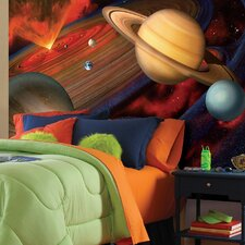 <strong>Brewster Home Fashions</strong> National Geographic Planets Wall Mural