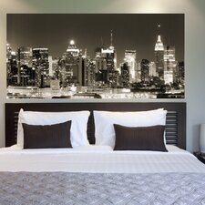 <strong>Brewster Home Fashions</strong> Euro Nightline Panoramic Wall Decal