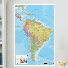 WallPops South America Whiteboard Wall Decal