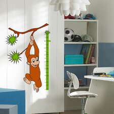 36 Piece Euro Monkey Growth Chart Set