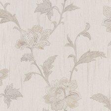 Venezia Gemma Embroidered Jacobean Floral Wallpaper
