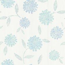 Kitchen & Bath Resource III Davenport Modern Floral Wallpaper