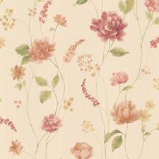 Kitchen & Bath Resource III Hanne Pattern Floral Wallpaper
