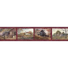 Pure Country Norm Quiet Scenes Wallpaper Border