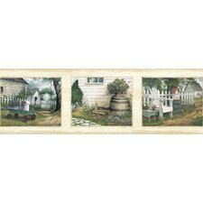 Pure Country Lumega Bucks Portrait Scenic Wallpaper Border