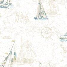 Sand Dollar Flagler Water's Edge Map Wallpaper
