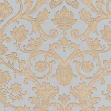 Venezia Suzetta Embossed Jacobean Damask Wallpaper