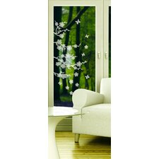 <strong>Brewster Home Fashions</strong> Blossom Etched Wall Decal