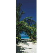 <strong>Brewster Home Fashions</strong> Komar Way to the Beach 2-Panel Wall Mural