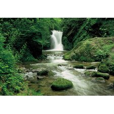<strong>Brewster Home Fashions</strong> Komar Ellowa Falls, Oregon 8-Panel Wall Mural