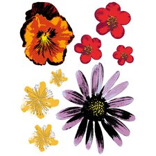 Spirit Painted Flowers Decals