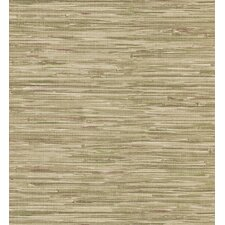 Destinations by the Shore Faux Grasscloth Wallpaper in Beige