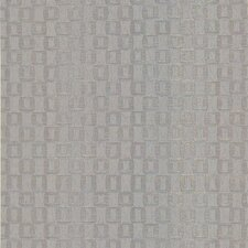 Joseph Abboud Designed Ventana Sablon Wallpaper in Metallic Silver